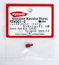 Kyosho PZW301-3 Shock Rod End (7075/ Plazma Ra 2.0)