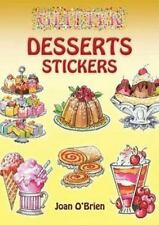 Glitter Desserts Stickers [With Stickers] (Mixed Media Product)