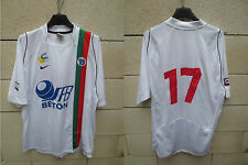 Maillot U.S CRETEIL LUSITANOS porté n°17 CFA 2 NIKE match worn shirt camiseta L