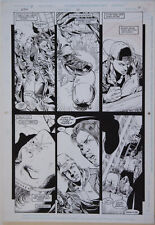 PHIL JIMENEZ / JOHN STOKES original art, ROBIN #12 pg 7, 11x 17, Bullies, 1994 Comic Art