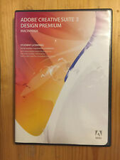 Adobe Creative Suite 3 Design Premium MACINTOSH PhotoShop Illustrator Flash Pro