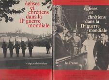 Eglises & chrétiens dans la 2 Guerre Mondiale/ Montclos, Luirard, Delpech, Bolle