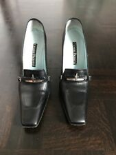 CESARE PACIOTTI BLACK HEELS 100% AUTHENTIC SIZE 9
