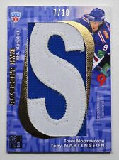 2012-13 KHL All-Star Letter #ABC-020 Tony Martensson 7/10