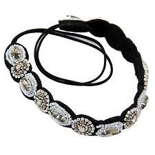 Women Beads Hair Band Retro Crystal Rhinestone Headband New M3S0