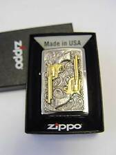 Zippo ® Golden revolver Limited Edition vol. 3 Fein Gold Neuf/New Ovp