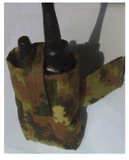 Militaty TASCA PORTA RADIO colore VEGETATA RIP STOP SOFTAIR vegetato Militare