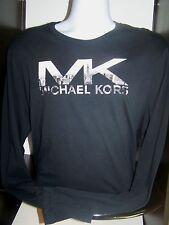 NWT Michael Kors Resort Collection Skyline logo Long Sleeve Sz L $49.50