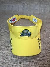 NASCAR Ford 400 Visor From 2005 Chase For The Nextel Cup Yellow