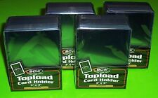 100 3X4 TOPLOAD CARD HOLDER - PREMIUM - FOR SPORTS/ TRADING CARDS - 4 packs/25