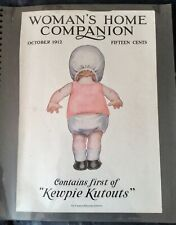 "RARE ANTIQUE ""KEWPIE"" magazine pages circa 1912-14. Rose O'Neil"