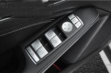 ABS Door Armrest Window Swith Buttons Trim 14pcs for Benz C-class W204 2008-2013