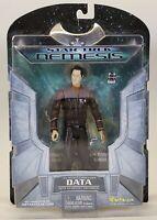 2002 Art Asylum Star Trek Nemesis Starfleet Lt. Cmdr Data Action Figure Toy