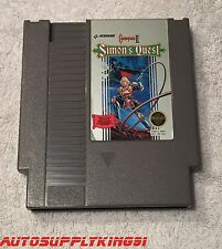 CASTLEVANIA II: SIMON'S QUEST (Nintendo Entertainment System, 1988) Game Tested