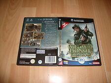 MEDAL OF HONOR FRONTLINE DE EA GAMES PARA LA NINTENDO GAME CUBE USADO COMPLETO