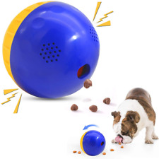 """New listing Interactive Dog Toys, Wobble Giggle Ball Dog Toy 4.7"""", Treat Dispensing Dog Toys"""