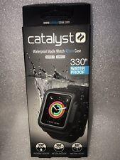 Catalyst Waterproof Apple Watch Case 42 mm for Series 3 & Series 2 (Black)