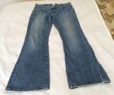 Women's Lucky Brand Jean Dungarees by Gene Montesano Sz 6/28 Made in USA