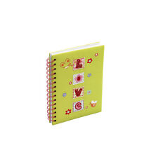25 x Job Lot Girls Green Love Dance Ballet Gift School Notebooks NB-1244 By Katz