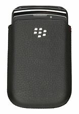 Origine Blackberry Torch 9800 9810 Cuir Noir Poche étui ACC-43971-201
