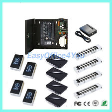 4 Door Access Controller Board RFID Network System + Magnetic Lock