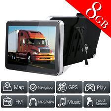 7 Inch GPS CAR Truck Navigation System 8GB 128MB USA Canada Free Maps GPS Units