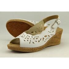 Sandalias y chanclas de mujer Spring Step color principal negro de piel