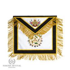 Handmade Masonic Scottish Rite Apron [32 Degree Apron by Masonic Revival]