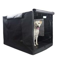 """Extra Large Dog Crate Kennel XL Pet Wire Cage Huge Cover Folding Giant Breed 42"""""""