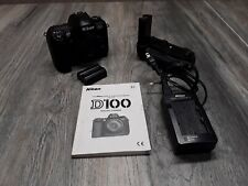 Nikon D100 6.1 MP Digital SLR Camera Battery Charger Manual