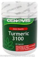 Cenovis Turmeric 3100mg (80 Capsules) ::Anti-Inflammatory for Joint Health::