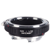K&F Concept Adapter for Nikon Mount Lens to Leica M Lens Camera M-P M240 M10