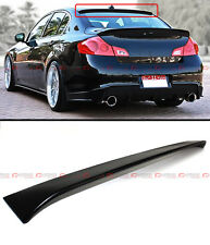 VIP SPORT STYLE REAR ROOF SPOILER VISOR FIT FOR 2009-2013 INFINITI G25 G37 SEDAN
