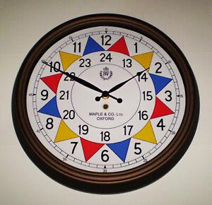 RAF Sector Clock, WW2 Operations Room, Battle of Britain, Replica Souvenir Clock