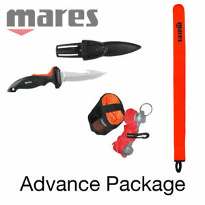 MARES advance package - SMB With FORCE PLUS KNIFE (FREE SHIPPING)