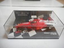 Minichamps F1 Formula 1 Ferrari F 300 V10 E. Irvine in Red on 1:43 in Box