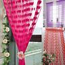 Cute Heart Line Tassel String Door Curtain Window Room Divider Valance занавес