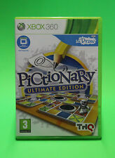 U DRAW PICTIONARY UTIMATE EDITION XBOX 360 ⭐⭐⭐AUSSIE SELLER⭐⭐⭐ NO BOOKLET GAME !