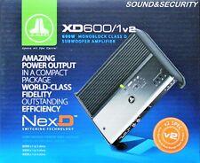 "JL AUDIO XD600/1v2 600W  CLASS D MONOBLOCK SUBWOOFER AMPLIFIER ""BRAND NEW"""