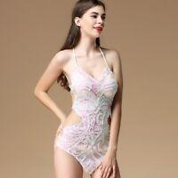 729c3306c85e Lady Sequins Pearl Strap Tops Dance Costume Fancy Dress Beaded Glitter  Clubwear