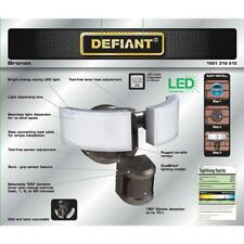 Defiant 180 Bronze LED Motion Outdoor Security Light NEW