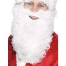 White Santa Beard and Wig Set Costume Accessory