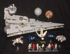 LEGO 6211 Star Wars Imperial Star Destroyer 100% Complete + Manuals Figures