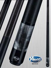 Viking 2pc Pool Cue Billiards custom new Smoke Pearl Finish cues free Glove