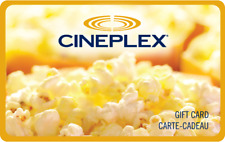 Cineplex Gift Cards - Mail or Email Delivery *5% OFF*