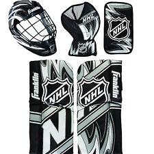 Franklin Shinny Goalie Equipment & Mask Set NHL Mini Hockey Goalie Equipment