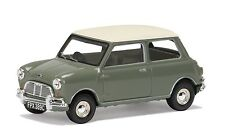 Vanguards Morris Mini Cooper MKI Tweed Gris & Old English White VA02537