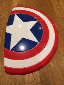Marvel Avengers 3D Wall Light Captain America Shield 3DFX