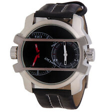 Fastrack Design Leather Belt Multi dial Mens Watch FOREST BRAND