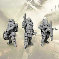 1/35 Set 3 pcs Heavily Armored Soldier of the Future C3C3 Resin New Model F1Z8